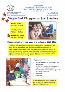 jarjums supported playgroup 2016